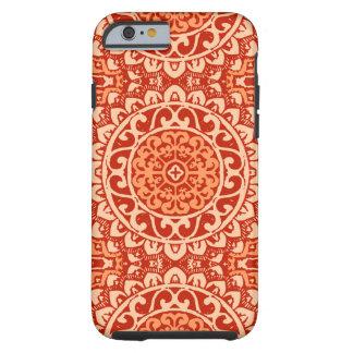 De zuidwestelijke Batik van Mandala van de Zon, Tough iPhone 6 Hoesje