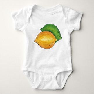 De zure Citrusvruchten die van het Limoen van de Romper