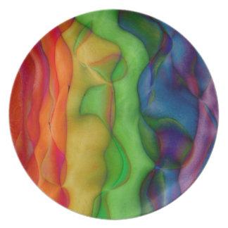 De Zure Reis van de psychedelische Regenboog Hippy Bord