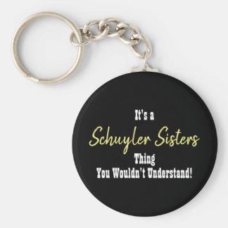 De Zusters Keychain van Schuyler Sleutelhanger