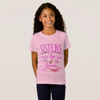 De zusters maken het Beste van Vrienden T Shirt