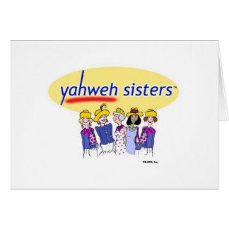 De Zusters van Yahweh Briefkaarten 0