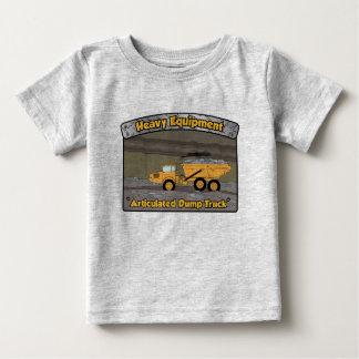 De zware Materiaal Gearticuleerde Vrachtwagen van Baby T Shirts