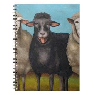 De zwart schapen notitieboek
