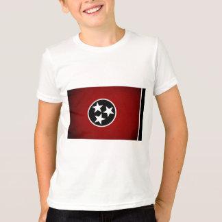 De zwart-wit Vlag van Tennessee T Shirt