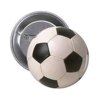 Sport buttons en sport speldjes - Sterke witte werpen en de bal ...