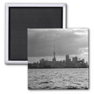 De zwart-witte Horizon van Auckland Magneet