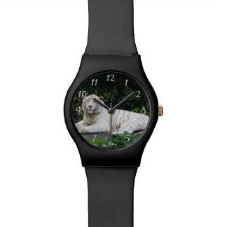 De zwart-witte ontspannen en Tijger die van Horloge