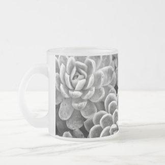 De zwart-witte Succulente Mok van de Ster