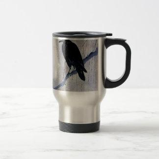 De zwarte Antiquiteit van de Vogel van de Raaf Reisbeker