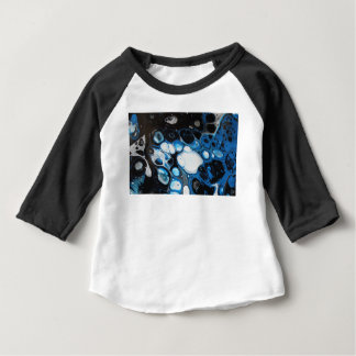De zwarte & Blauwe T-shirt van Bellen