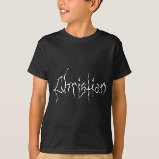 De zwarte Christen van het Metaal T Shirt