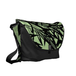 De zwarte en Groene Nauwe vallei van de Varen Messenger Bag