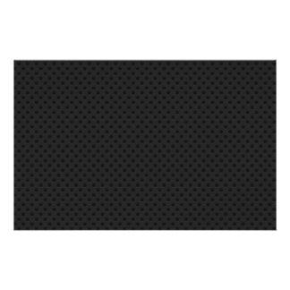 De zwarte Geperforeerde Vezel van de Koolstof Folder