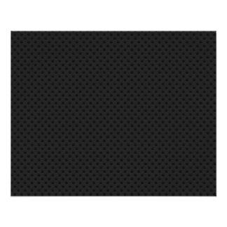 De zwarte Geperforeerde Vezel van de Koolstof van Gepersonaliseerde Folder