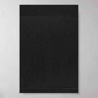 De zwarte Geweven Achtergrond van het Karton Poster