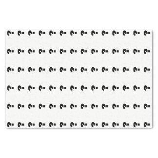 De zwarte Gift van de Geheimzinnigheid van 25,4 X 38,1 Cm Zijdepapier