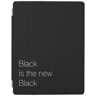 De zwarte is het nieuwe Zwarte douanecitaat iPad Cover