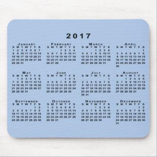 De zwarte Kalender van 2017 op Klantgerichte Muismat