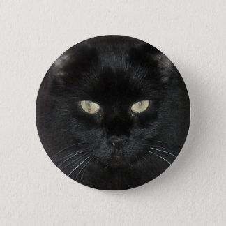 De zwarte Kat staart Ronde Button 5,7 Cm