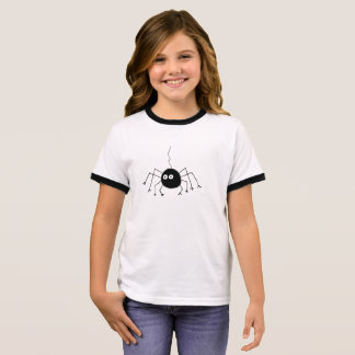 De zwarte Kinder T-shirt van de Spin