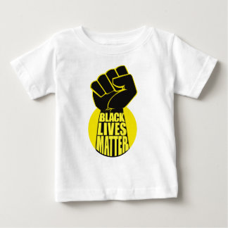 De zwarte Kwestie van het Leven Baby T Shirts