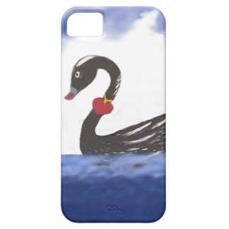 De zwarte Liefde die van de Zwaan Telefoon 5/5 Barely There iPhone 5 Hoesje