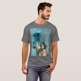 De zwarte nam Eigentijdse Ontwerp Geïnspireerde T Shirt
