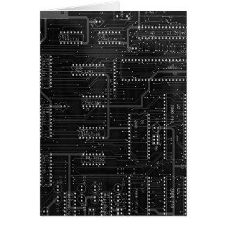 De zwarte Raad van de Kring Cyber Industriële EBM Kaart