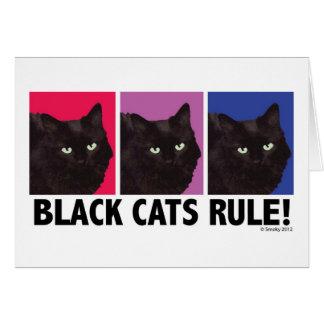 De zwarte REGEL van Katten! Lege Kaart
