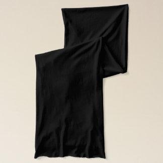 De zwarte Sjaal van Jersey Sjaal