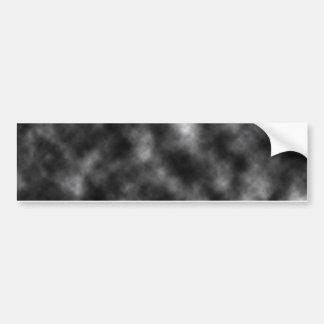 De zwarte Sjabloon van de Wolk Bumpersticker