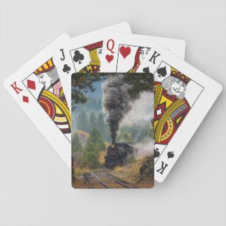 De zwarte Speelkaarten van de Motor van de Stoom