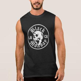 De zwarte Spier T van het Kegelen van de Maandag T Shirt