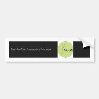 De Zwarte Sticker van de Bumper NGGN