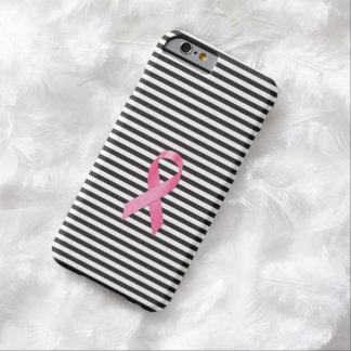De Zwarte Streep van het Lint van de Voorlichting Barely There iPhone 6 Hoesje