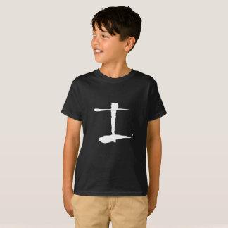 De Zwarte T-shirt van de Kinderen van Infinitus