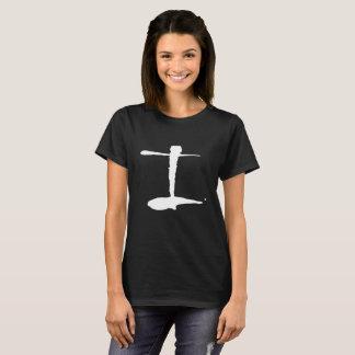 De Zwarte T-shirt van de Vrouwen van Infinitus