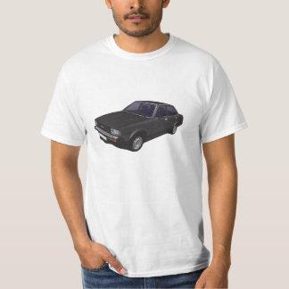 De zwarte t-shirt van Toyota Corolla DX E70