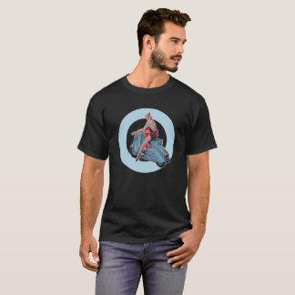 De zwarte van het Doel van Mod. van het Meisje van T Shirt