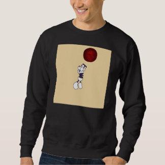De Zwarte van het Sweatshirt van de Robot van