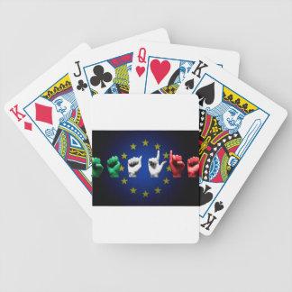 de zwarte van Italië Europa Poker Kaarten