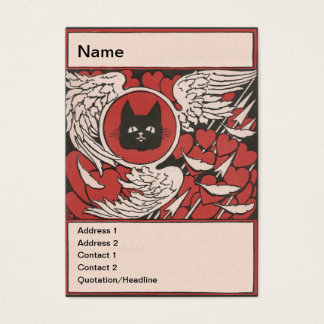 De zwarte Wijnoogst van de Kat, van Harten en van Visitekaartjes