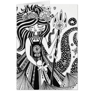 De zwarte & Witte Kaart van Valentijn van de Heks