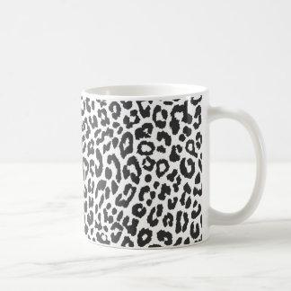 De zwarte & Witte Patronen van de Huid van de Druk Koffiemok
