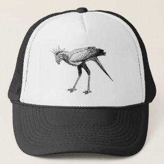 De zwarte & Witte Vogel van de Secretaresse van de Trucker Pet