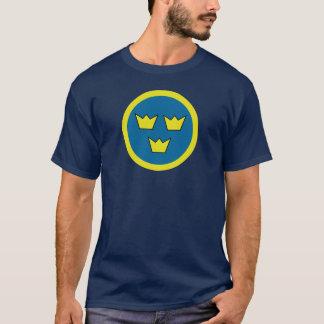 De Zweedse Insignes van drie Kronen T Shirt