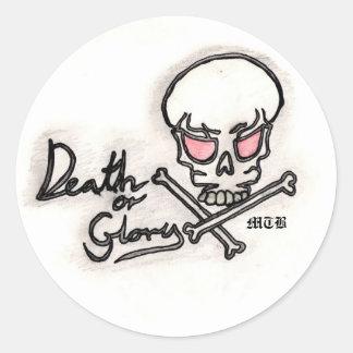death_or_glory, MTB Ronde Sticker
