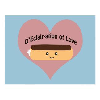 D'eclair-Ation van Liefde Briefkaart
