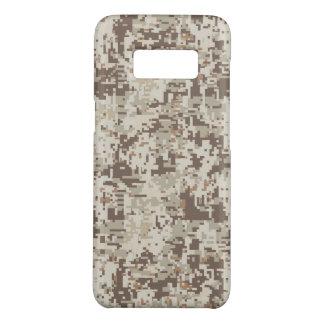 Decor van de Camouflage van de woestijn het Beige Case-Mate Samsung Galaxy S8 Hoesje